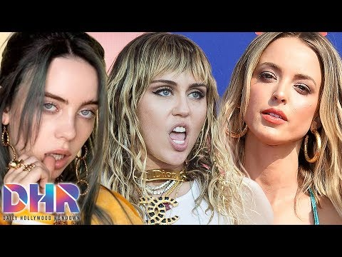 Miley Cyrus & Kaitlynn's WILD PDA At Club! Billie Eilish REVEALS Who She's In Love With! (DHR)