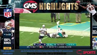 GMS New England Patriots vs Miami Dolphins - FULL HD GAME Highlights Week 14