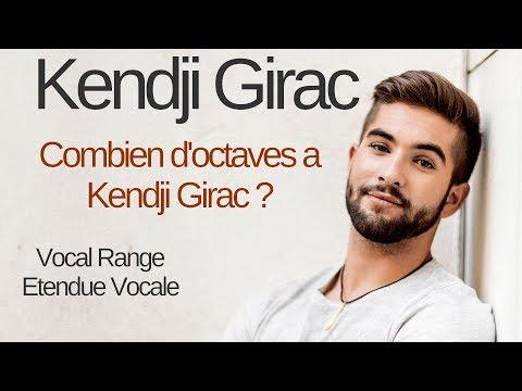 Kendji Girac Etendue Vocale / Vocal Range : Combien d'octaves a Kendji ? G2 - C#5 - E5