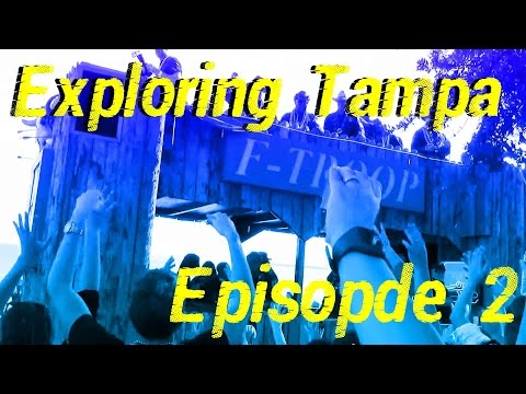 Exploring Tampa Episode 2: Valentine's Day, Water Works Park, Water Bike Company, Gasparilla