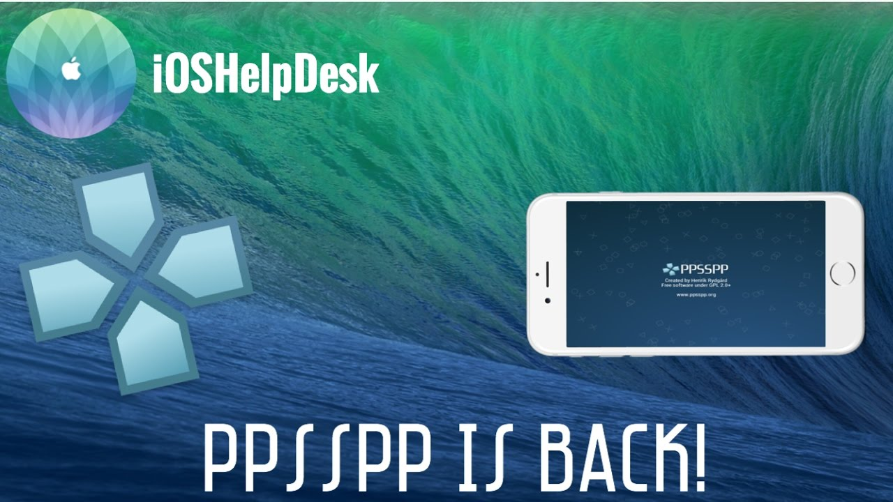 NEW Download PPSSPP On IOS 910 NO JAILBREAKNO COMPUTER