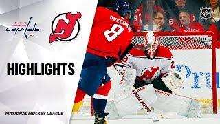 nHL Highlights  Capitals @ Devils 12/20/19