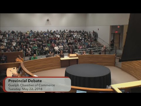 Guelph: Provincial Candidates Debate - May 22, 2018
