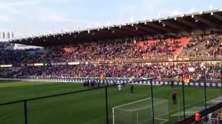 Club Brugge - Lokeren 05-05-13 feestje na de wedstrijd