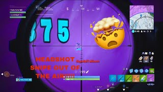Fortnite my best snipe!! (Someone clip it and tell me if it gets through!)