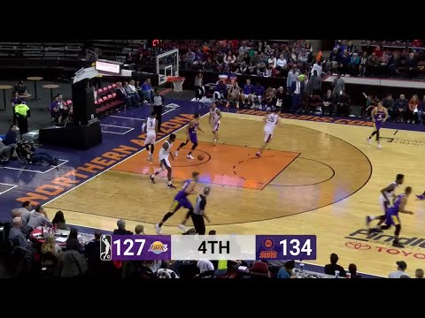 Travis Wear (27 points) Highlights vs. Northern Arizona Suns