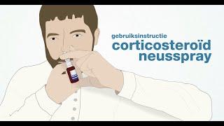 Corticosteroïd neusspray
