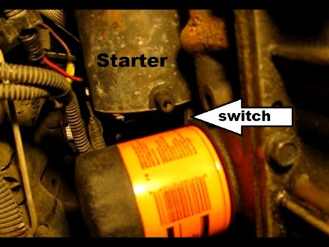 How to replace the starter in a GM 24L quad four Grand Am, Sunfire