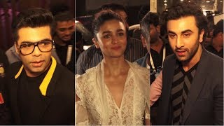 Karan Johar, Alia Bhatt & Ranbir Kapoor At Jio Mami Film Mela