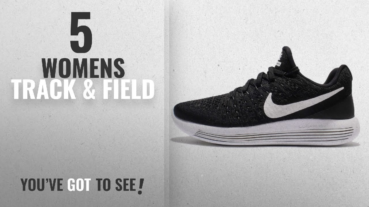 best service 4980c a1b74 Top 10 Womens Track   Field  2018   Nike Women s Lunarepic Low Flyknit 2  Black White Anthracite