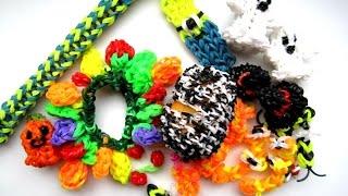 Фигурки из резинок: Вся коллекция моих фигурок из резинок Rainbow loom