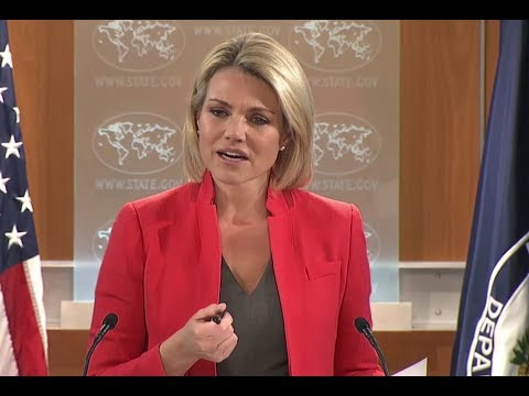 MUST WATCH: US State Department URGENT Briefing with Heather