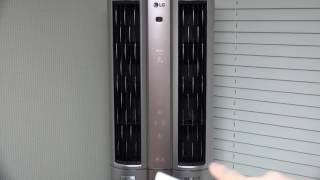 LG 듀얼에어컨 스마트케어 공기청정기능 실제로 써보면