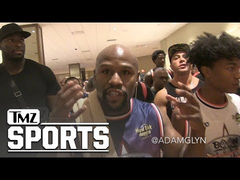 Floyd Mayweather Gives Fight Advice to Khabib About Conor McGregor | TMZ Sports