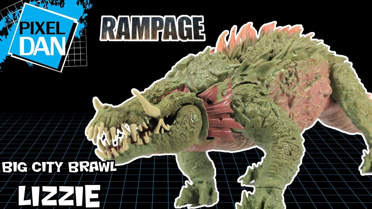 Rampage le film big city Brawl Lizzie Set