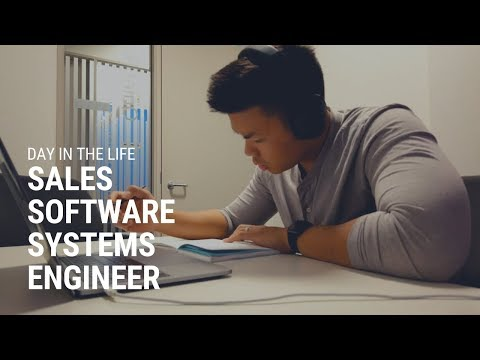 Day In The Life Of A Sales Software Systems Engineeer