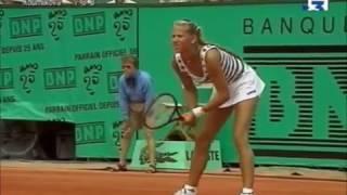 Anna Kournikova vs Jana Novotna 1998 RG Last games
