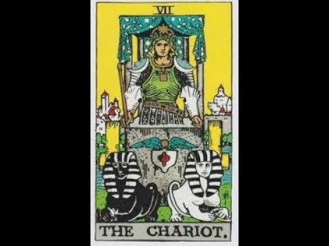 ASMR ~ The Chariot Tarot Card Major Arcana Card 7