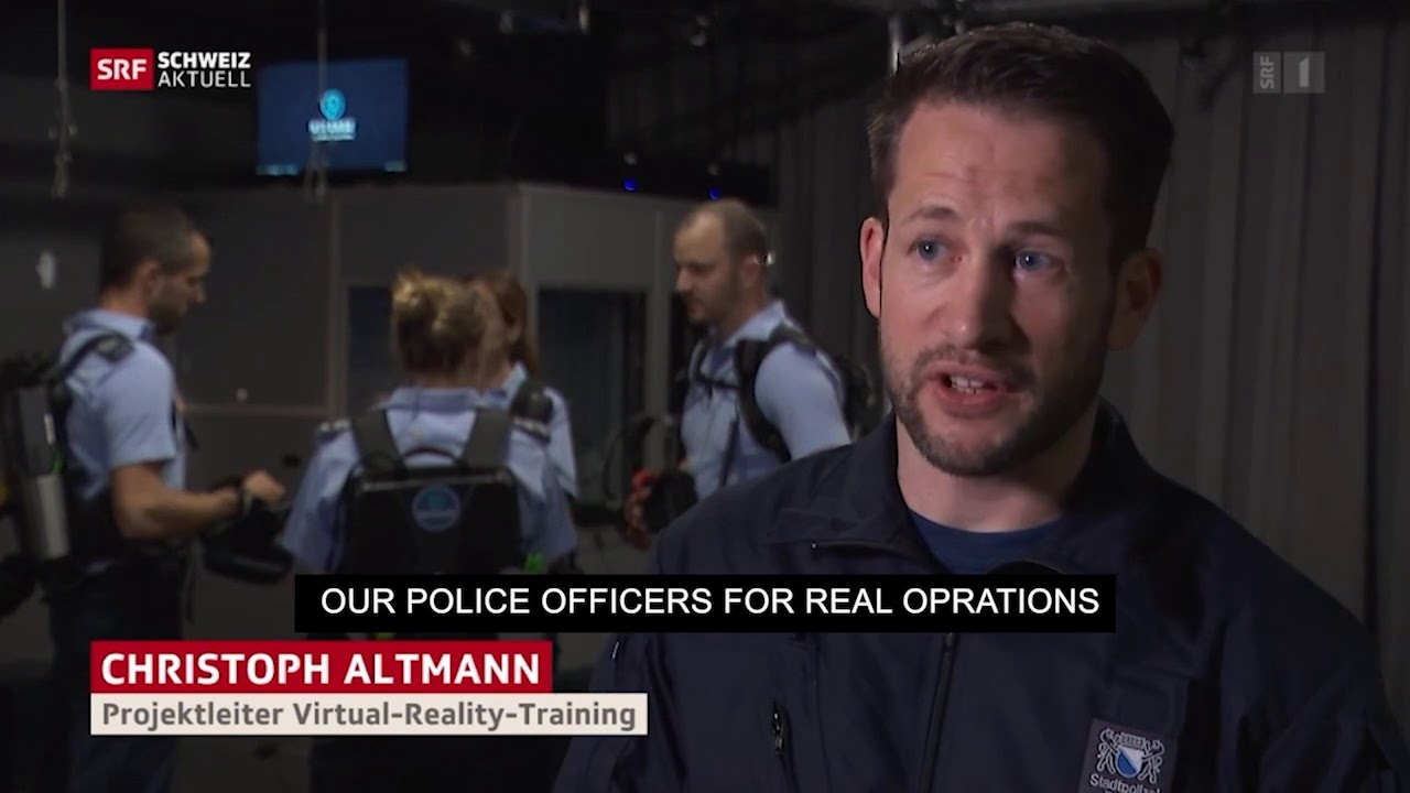 Refense trains 800 Police Officers in Virtual Reality