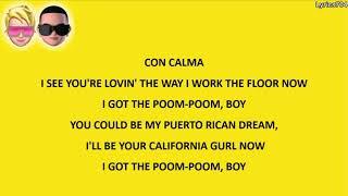 Daddy Yankee, Katy Perry Ft. Snow - Con Calma   S