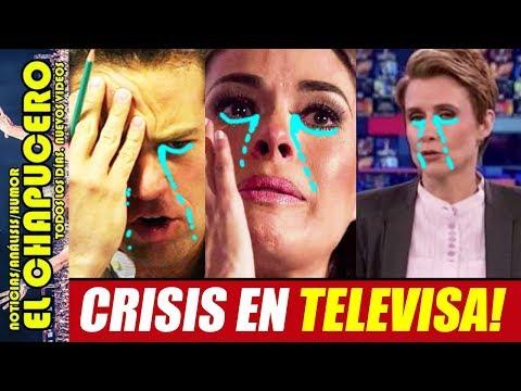 TELEVISA EN CRISIS! RECORTAN SUELDOS A LORET, DENISE Y GALILEA