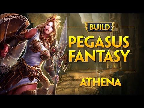 SMITE :: Build Athena :: Pegasus Fantasy