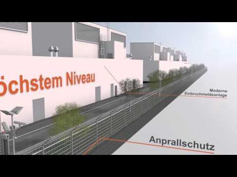 Rechenzentrum München Ost: Der Aufbau im Detail