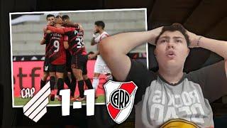 Paranaense vs. River | Reacciónes de un Hincha | Octavos de Final • #Libertadores 2020 🏆