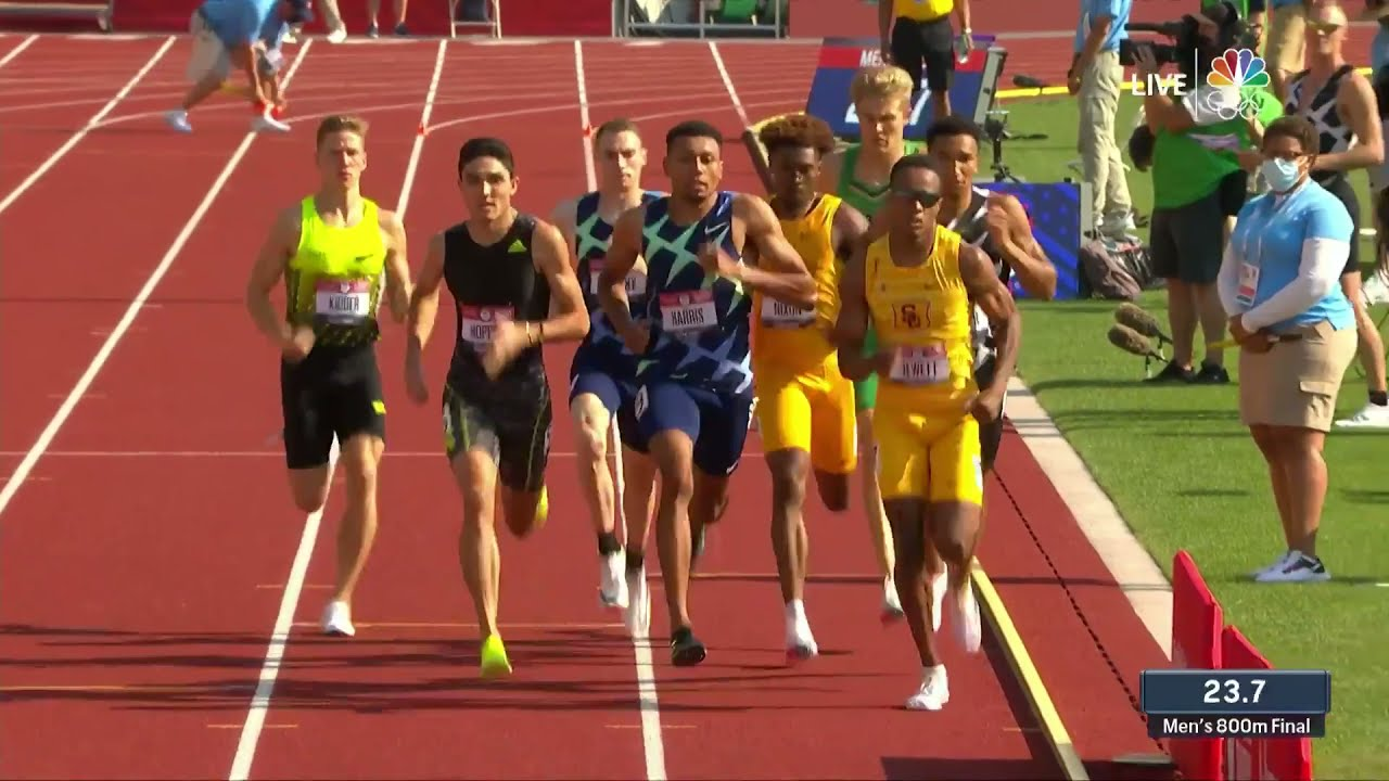 Download Comeback King Clayton Murphy Shows Out In Men's 800m Final