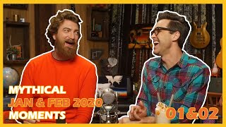 The BEST and FUNNIEST Rhett & Link MOMENTS from GMM (January & February 2020)