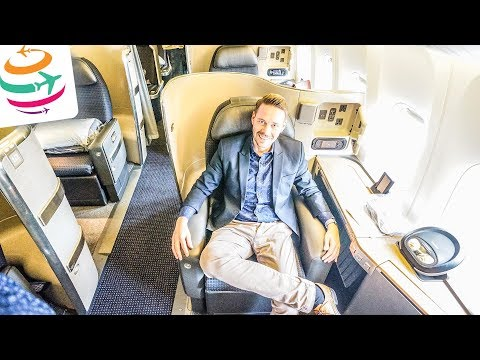 American Airlines First Class (ENG) 777-300ER | GlobalTraveler.TV
