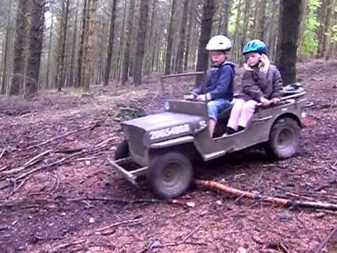 Mini Jeep Willys Fun Youtube