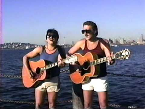 Ro Helke (RIP) & Eric Turnbow Jam up at  Alkai Point in Seattle Summer of 1989
