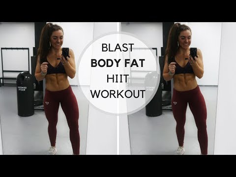 Full Body FAT Blasting HIIT Workout