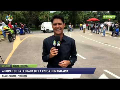 Colombia - A horas de la llegada de la ayuda humanitaria a Venezuela- VPItv