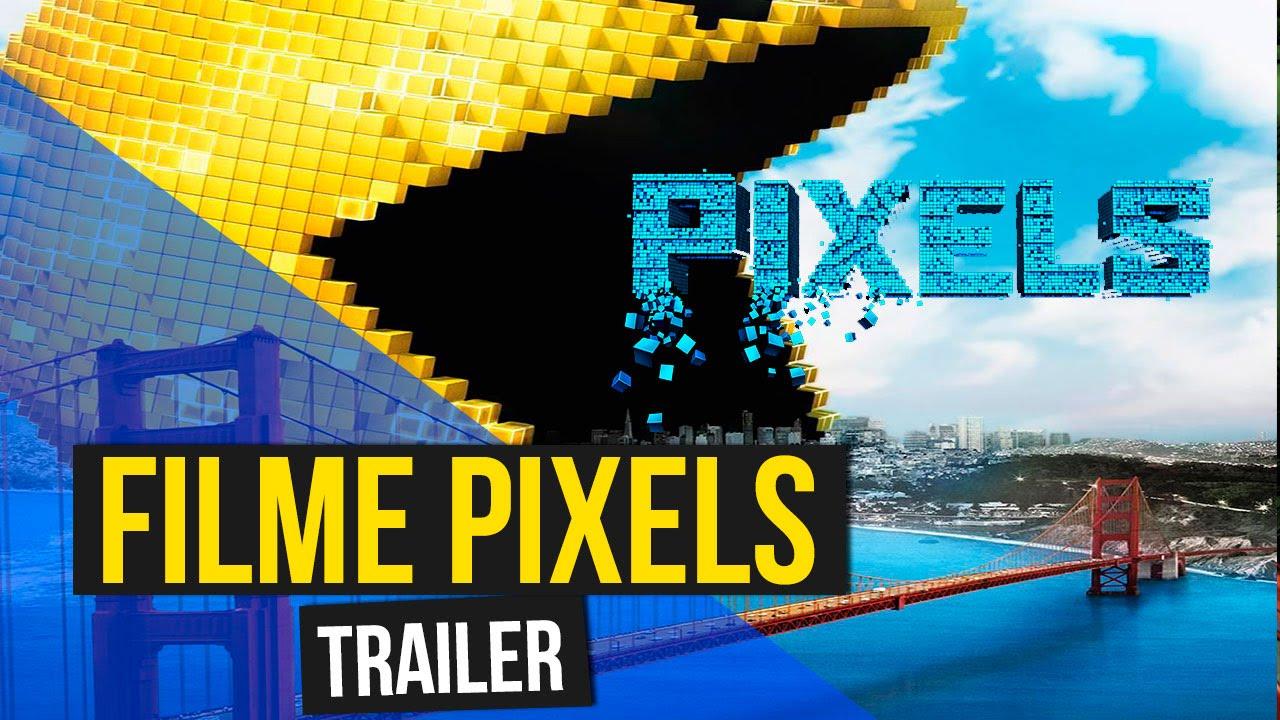 Trailer Filme Pixels - Inspirado no mundo dos games - Filme sobre os games