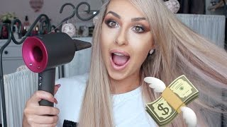 MOST EXPENSIVE HAIR DRYER review, Dyson   DramaticMac