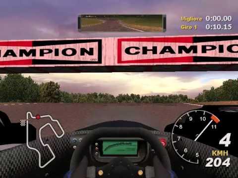 Total Immersion Racing (PC): Sfida a Tempo - Springfield con Lister Storm LMP (new record)