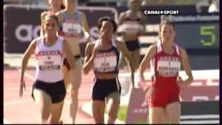Championnat de France sur 1500m Femme, Angers 2009. Hind DEHIBA.