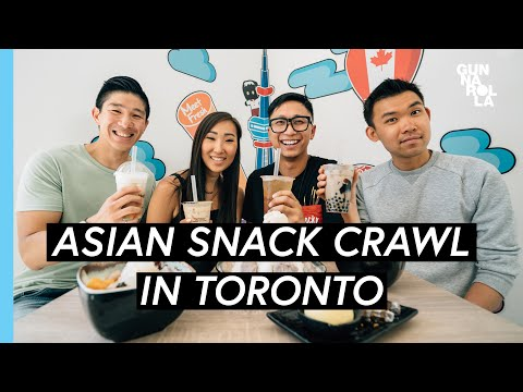 Toronto Food Travel Guide: Best Asian Snacks Uptown North York