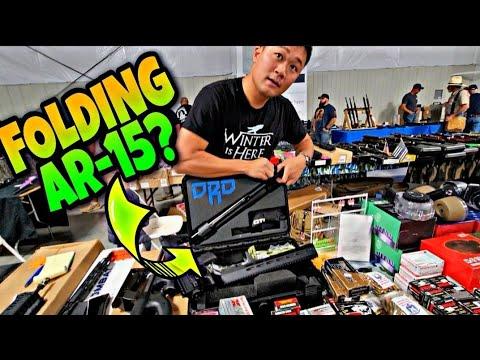Download JOHN WICK TYPE FOLDING AR-15 FROM 2021 GUN SHOW 🔥🔥