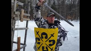 Sturtzhau practical use in sword fighting