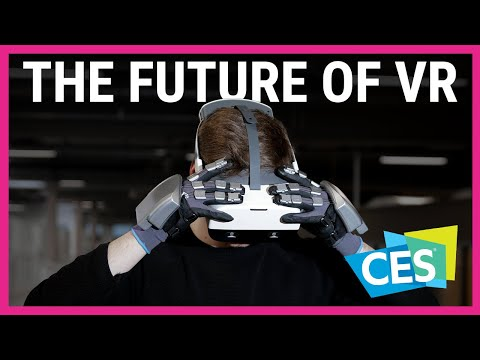 These haptic feedback gloves could be the future of VR   CES 2021