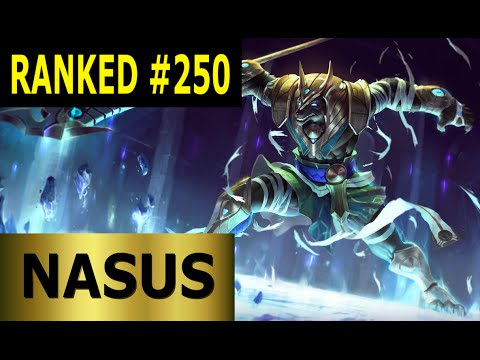 Nasus Top - Full League of Legends Gameplay [German] Let's Play LoL - Ranked #250