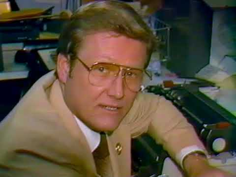 WOWK TV 1984 - Terry Bumgarner Gives A Tour Of The Old Facility.