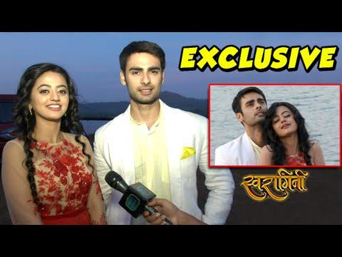 Swara KISSES Sanskar | SwaSan romance in Swaragini   - YouTube