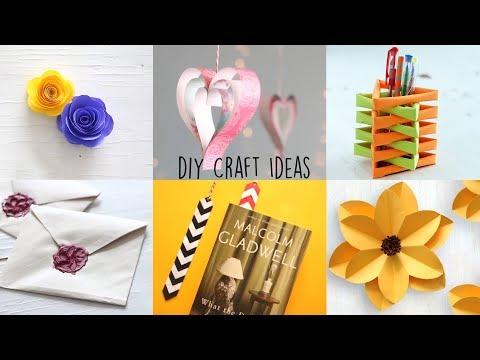 6 Best Paper Crafts | DIY Paper Craft | Ventuno Art