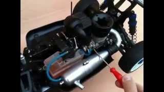 Automodelo Inferno Neo type 2 Kyosho motor GX-21 escala 1/8