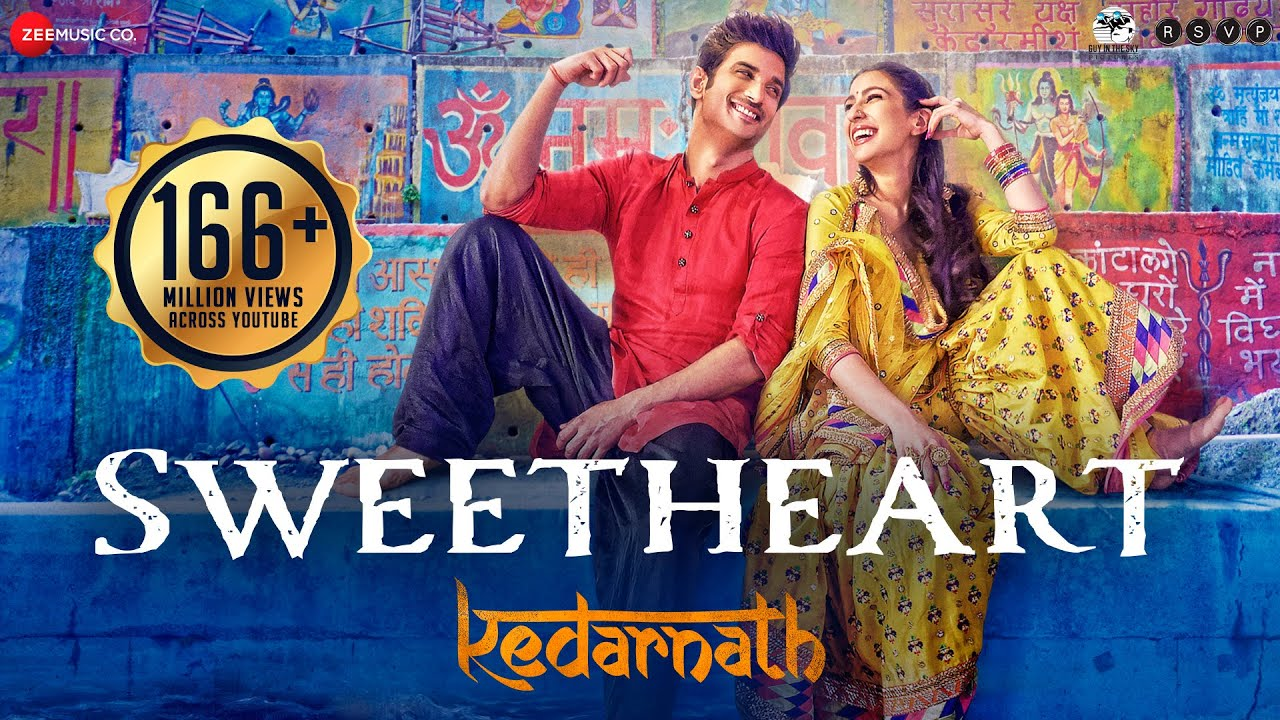 Sweetheart - Full Video | Kedarnath | Sushant Singh | Sara Ali Khan