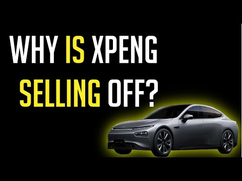 WHY XPENG STOCK SOLD OFF TODAY! | WHAT YOU SHOULD CONSIDER DOING!